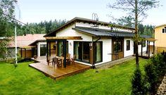 Деревянный финский дом интерьер