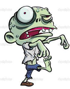 cute zombie cartoon - Google Search