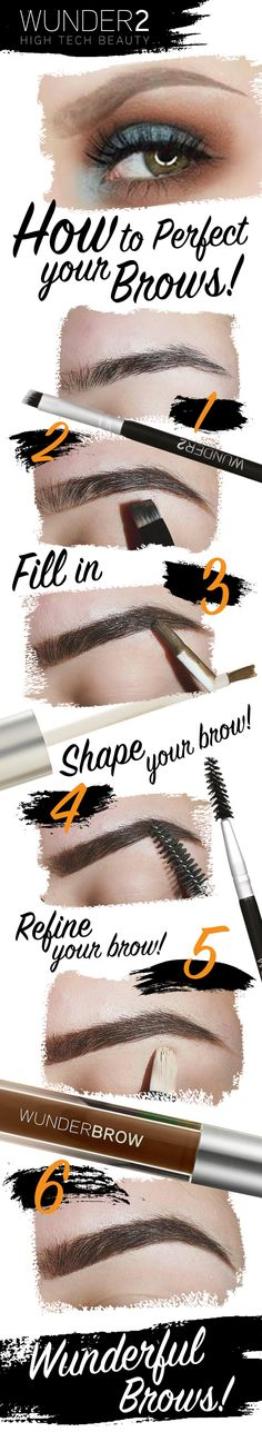 If you are wondering how to get perfect looking brows then you've come to the right place! Follow these 6 simple steps to help you achieve the brows you've always dreamed of. There are 3 simple phrases to remember when shaping your brows: Fill in, then shape your brows & finally refine your brow. Try it today for only $22 + FREE shipping & a 30-day risk-free money back guarantee. Simply click on the 'visit' button above. The order form only takes 2 mins to complete! Get yours while stocks…