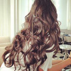 Lovely long hair.