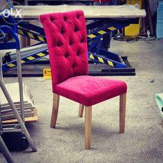 Krzesło tapicerowane pikowane Architekt Tapicerski Wrocław - image 1