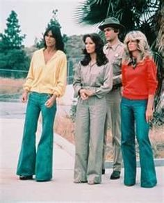 Charles Angels -- yes that's what we wore in the '70s:)