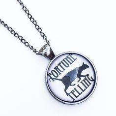 """• Fortune Cat Necklace • Please DO NOT buy this listing as I have more than one available. Comment below and I'll make a separate listing for you. Handmade Zinc alloy silver gun metal material. Lead and nickel free. 18"""" length chain.   •price firm unless bundled •no trades •10% off all bundles Jennifer's Chic Boutique  Jewelry Necklaces"""