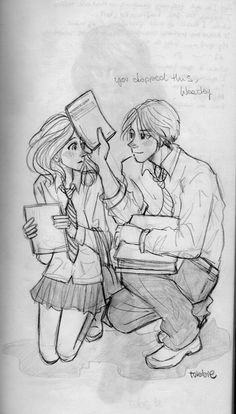 Rose and Scorpius ❤❤❤ (she is daughter of hermione with ron and he is son of draco)