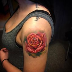 Red Rose - http://tattooideas247.com/red-rose/