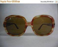 b216994bc918 ON SALE 20% Oversized vintage sunglasses 70s sunglasses. 70s Sunglasses