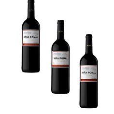 Vin Rouge Rioja Viña Pomal Crianza 75Cl - LOT DE 3