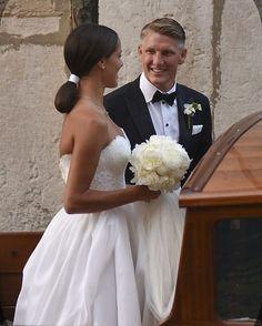 Ana Ivanovic andBastian Schweinsteiger
