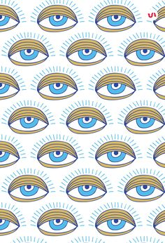 I am so happy to introduce to you this hand drawn set of 40 Evil Eye Illustrations PLUS 20 Evil Eye Seamless Patterns. The Evil Eye is a curse believed to be Eyes Wallpaper, Drawing Wallpaper, Wallpaper Backgrounds, Iphone Wallpaper, Realistic Eye Drawing, Realistic Rose, Evil Eye Art, Eye Illustration, Eyes Artwork