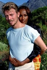 Image result for david bowie iman
