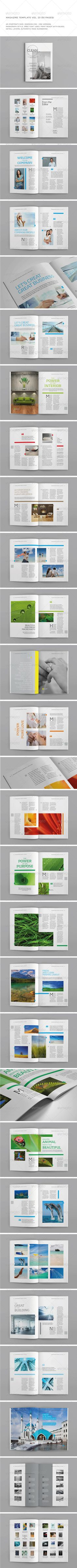 Indesign template vol 23 You can download this template here : http://graphicriver.net/item/a5-portrait-50-pages-mgz-vol-23/5997951?WT.oss_phrase=&WT.oss_rank=27&WT.z_author=Shafura&WT.ac=search_thumb