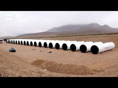 First Hyperloop Tubes Have Been Delivered To The Nevada Desert