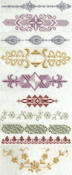 Linen Bleu 2 Embroidery Machine Design Details | designsbySiCK.com