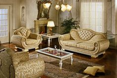 Fine Fabric Suites The Impero Sofa Set From House Of Italy