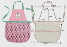 APRON COOKING | Cutting and Sewing