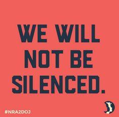 We will not be silenced - women's march
