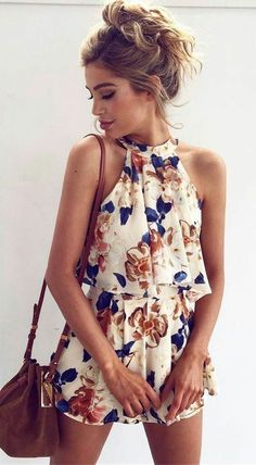 3bb9babde520 Cute romper Summer Trends 2017 Outfits