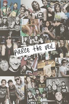 pierce the veil in all its glory<3333