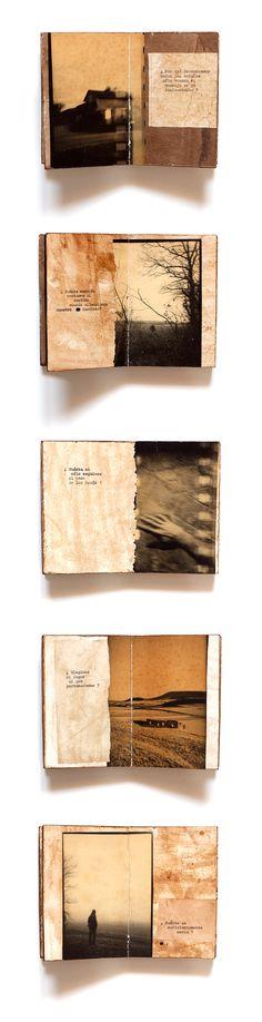 * tratado de incertezas · unique #artist #BOOK · 2020 · Juanan Requena Journal Pages, Journals, Paul Theroux, Coffee Staining, Altered Books, Book Art, Unique, Books, Magazines