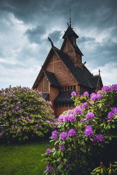 "polandgallery: ""Photo Album: Stave church moved from Norway to Poland. Karpacz, Poland """