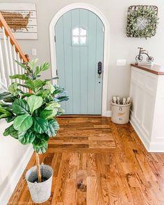 31 Gorgeous Modern Farmhouse Door Entrance Design Ideas - House Plans, Home Plan Designs, Floor Plans and Blueprints Style At Home, Entrance Design, Door Design, Entrance Rug, Exterior Design, Home Decor Inspiration, Decor Ideas, Decorating Ideas, Porch Decorating