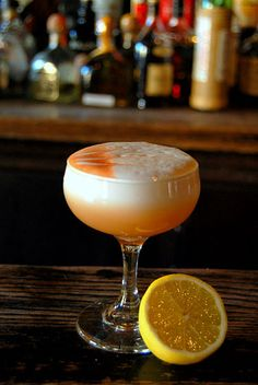 Looks delish - whiskey sour #wedding #cocktail