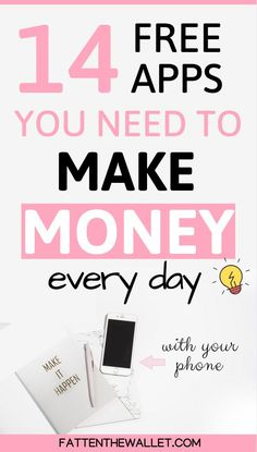 Earn Money Online, Online Jobs, Make Money From Home, Way To Make Money, Apps That Pay You, Budget Planer, Marketing Articles, Managing Your Money, Money Management