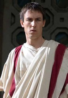 """Tobias Menzies as Marcus Junius Brutus in """"Rome"""" (TV Series) Rome Tv Series, Hbo Series, Hades, Rome Hbo, Ray Stevenson, Outlander Tv Series, Roman History, The Daily Show, Tv Series Online"""