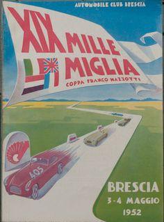 Mille Miglia artwork (1952)