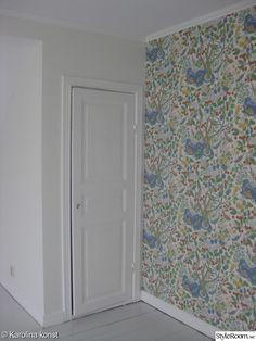 Vårt nya hus börjar ta form - Hemma hos KP-lina Curtains, Shower, Bathroom, Josef Frank, Wallpaper, Prints, Home Decor, Bonito, Pictures