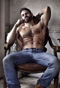 Jeans and muscle
