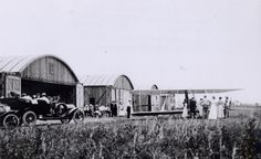 Oldest Airport: College Park Airport. Wilbur Wright opened this airport in College Park, Md., in 1909 to train military pilots. (This photo shows visitors arriving in 1911.) (From: Photos: Where to See America's Oldest Places)
