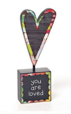 You Are Loved Sculpture - Home decor 4 Seasons
