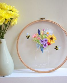 Embroidery Hoops, by Emma Astle on Etsy See our... |