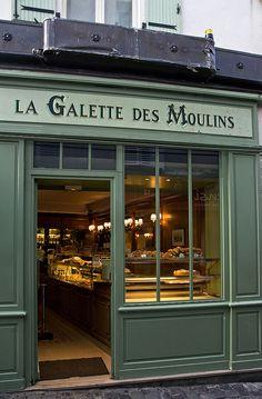 .les vitrines de Paris