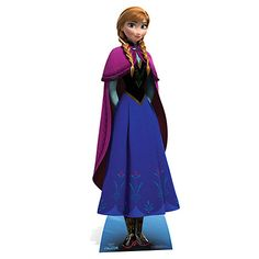 Anna Frozen (paper cut out, from Disney store)