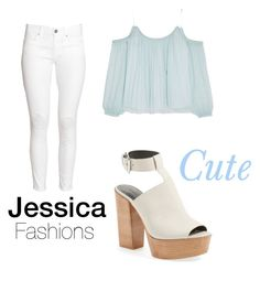 """""""Cute and casual"""" by jessieluv05 on Polyvore featuring H&M, Elizabeth and James and Rebecca Minkoff"""