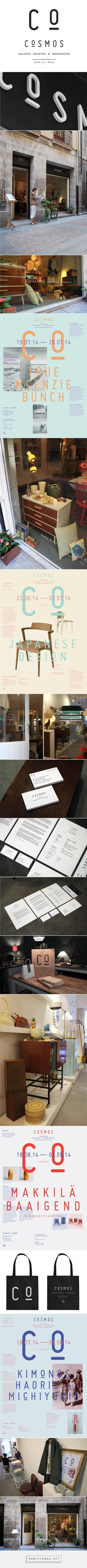 CoSMOS on Behance. - a grouped images picture - Whirlpool Galaxy-Andromeda Galaxy-Black Holes Branding And Packaging, Stationary Branding, Branding Agency, Packaging Design, Identity Branding, Brand Identity Design, Graphic Design Branding, Corporate Design, Retail Design