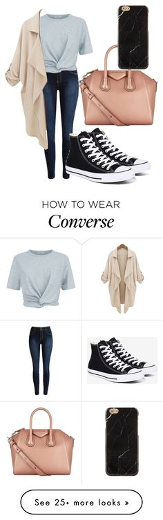 """Untitled #167"" by ntone3 on Polyvore featuring T By Alexander Wang, Converse and Givenchy"