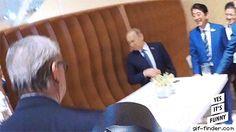 Trump and Putin's 'First' Handshake