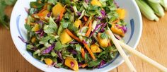 Chinese koolsalade met mango en chili ♥ Foodness - good food, top products, great health