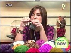 La belleza y el arte de tejer aprende variedades de cuellos - YouTube