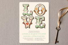 Ornamental Wedding Invitations by Aspacia Kusulas at minted.com