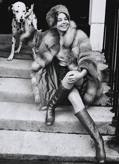 Leslie Caron 1967: Henry Clarke