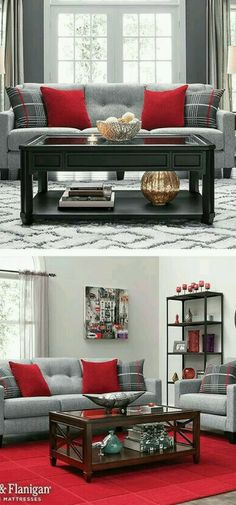 60 Amazing Rugs Design Collection The Architects Diary Grey And Red Living Room