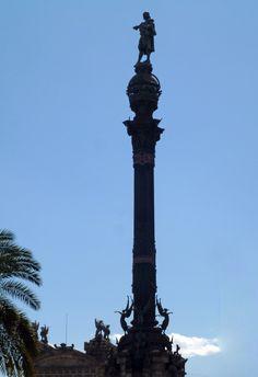 Espagne : la colonne de Christophe Colomb à Barcelone