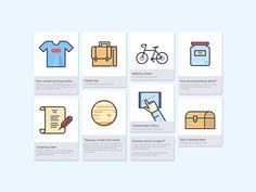 Cards Grid UI