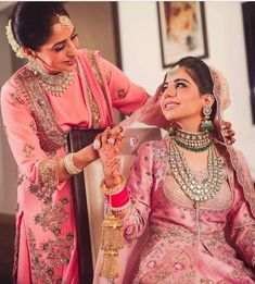 In honor of Mother's Day, we at The Big Fat Indian Wedding, have scooped the web and found the beautiful and resplendent memories of the bride, and their mothers. Indian Wedding Poses, Indian Wedding Photography Poses, Big Fat Indian Wedding, Desi Wedding, Indian Wedding Outfits, Bridal Outfits, Indian Weddings, Wedding Ideas, Wedding Goals