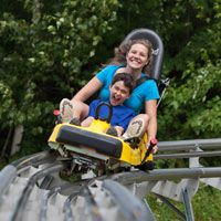 North Conway, New Hampshire Summer Family Attractions near Mount Washington - Cranmore Mountain Adventure