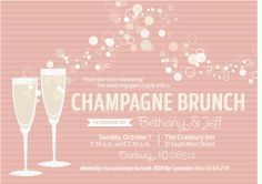 Champagne Brunch Invites for Dee...